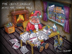 Credit Crunch Hits North Pole
