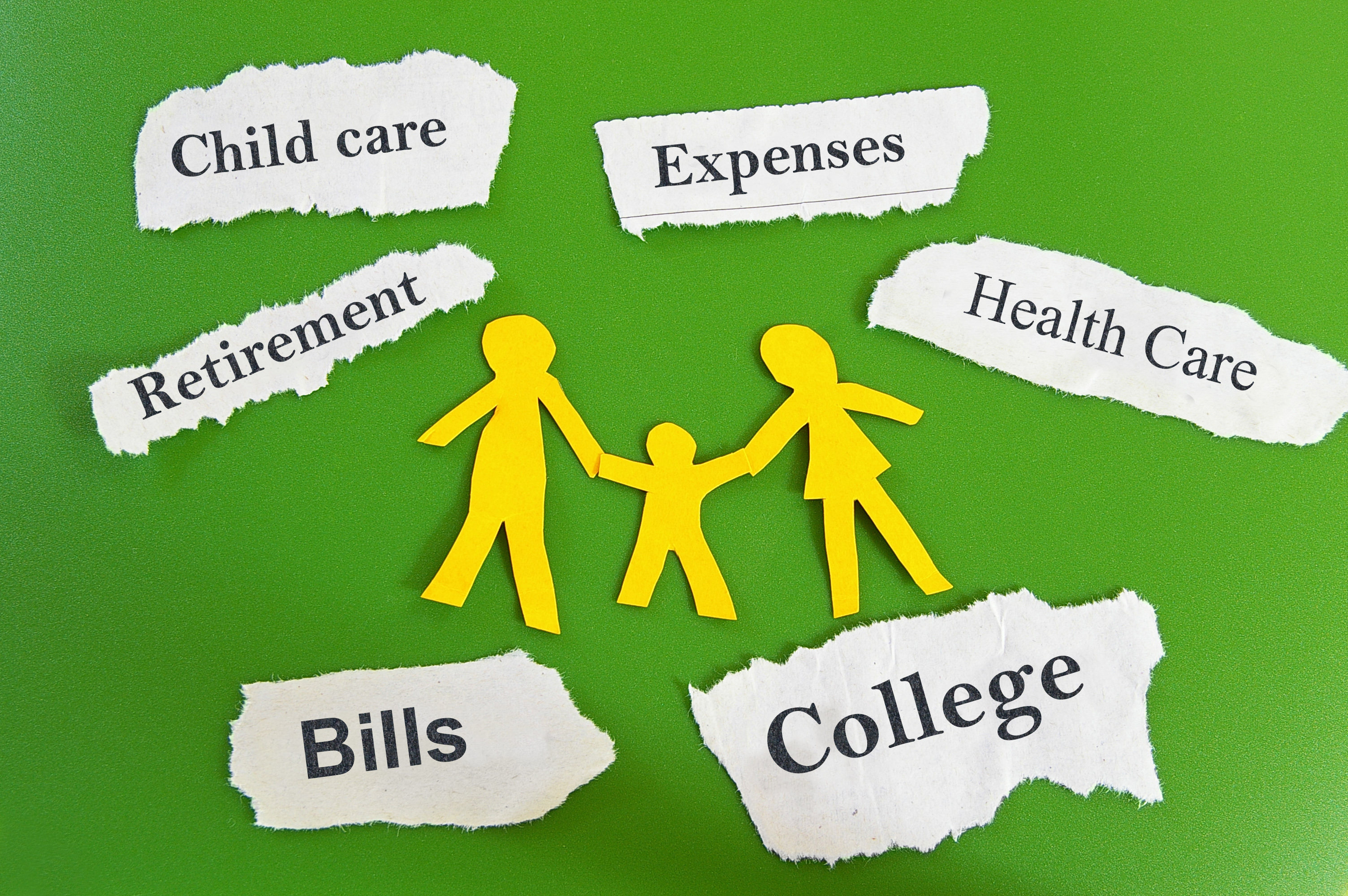 family expenses graphic